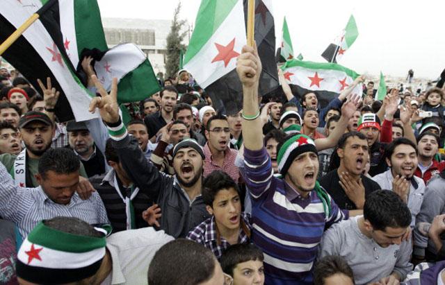 Jordan Syria Protests