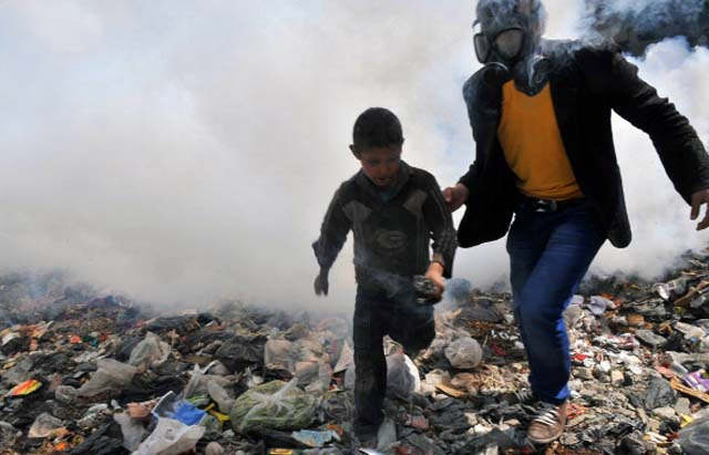 Syria Conflict fumes