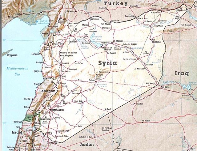 SyriasMap