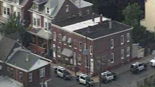 Trenton Stand-Off, Man Kids Hostage New Jersey