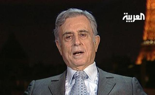 Former Syrian Vice President Abdul Halim Khaddam