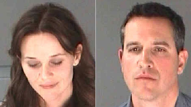 Jim Tooth, Reese Witherspoon Mugshot