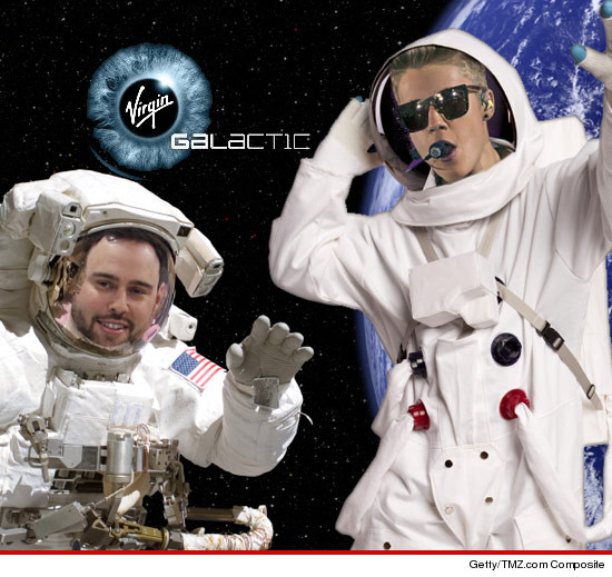 Justin Bieber Space, Justin Bieber, Scooter Braun