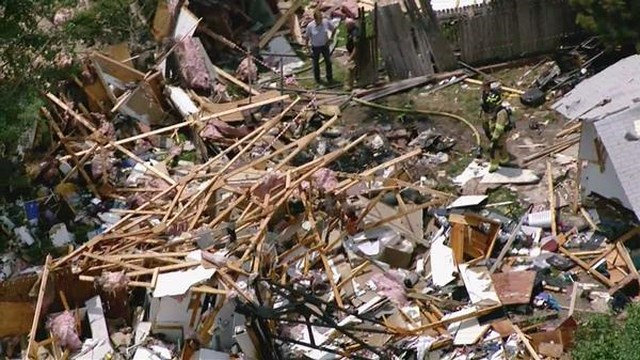 Explosion Levels Home in Colorado