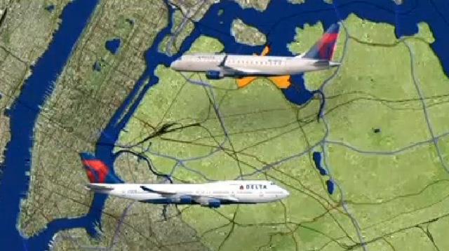 airplane crash New York