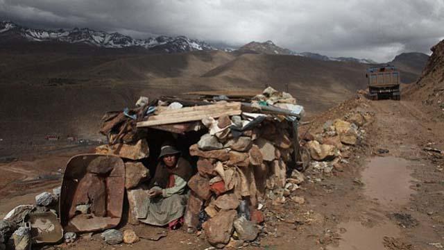 Mining in Potosi, Bolivia