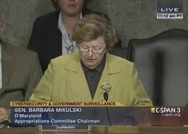 NSA director hearing