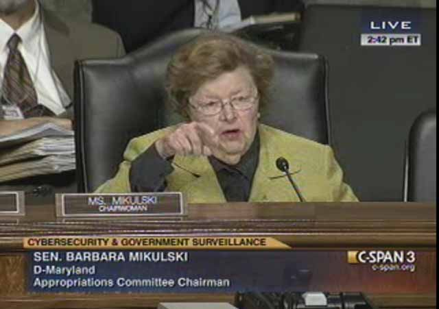 Appropriations Committee Cybersecurity