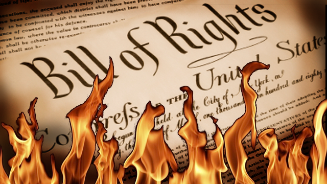 constitutional rights eroded