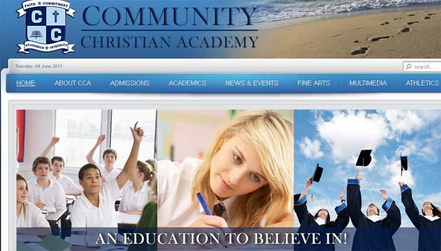 Florida High School Martin County Community Christian School.