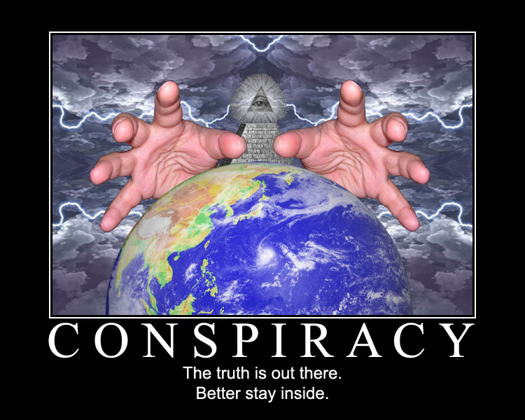 conspiracy, theory, top, 5