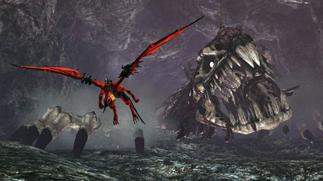 Crimson Dragon gameplay