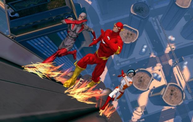 DC Universe Online Flash