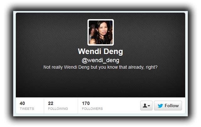 Deng Twitter Page Fake Verified