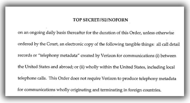 NSA Verizon