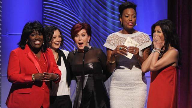 Aisha Tyler, Sharon Osbourne, Emmy Awards
