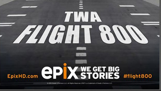 epix, twa 800, conspiracy, missile