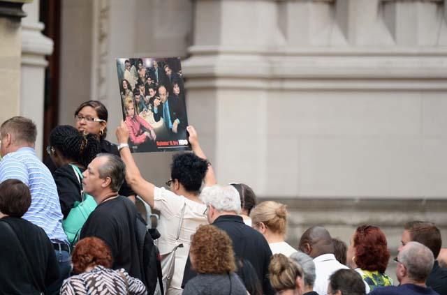 Sopranos, James Gandolfini, Funeral, Memorial Service, Remember, R.I.P., Fans