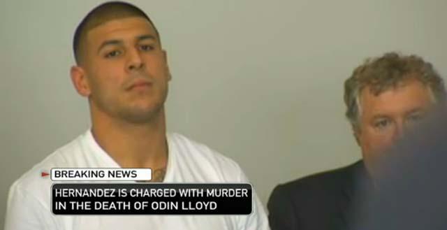aaron hernandez murder, aaron hernandez charges