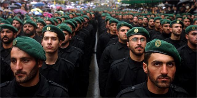 Hezbollah soldiers