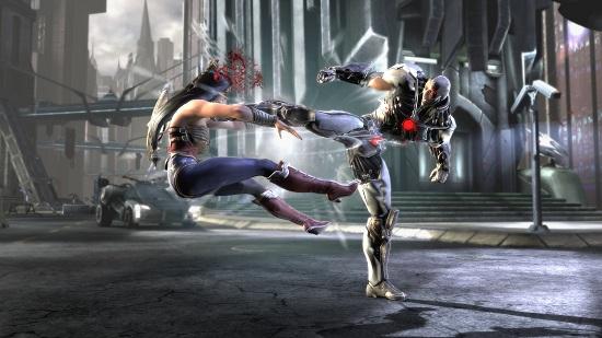 Injustice Gods Among Us Gameplay
