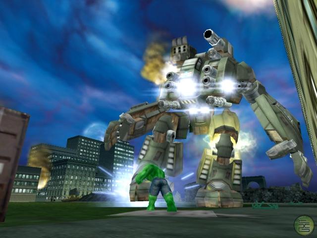 Hulk Ultimate Destruction Game