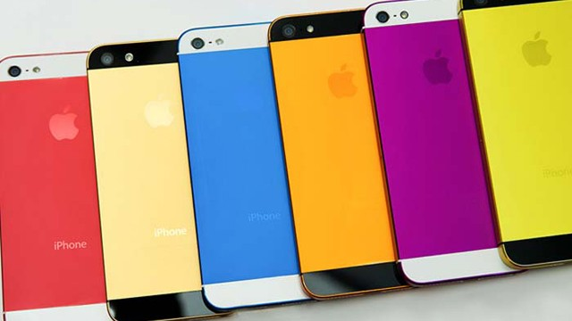 iphone 5s color
