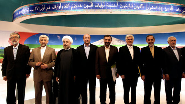 Two reformist candidates have since dropped out of the race to support the moderate Hassan Rouhani