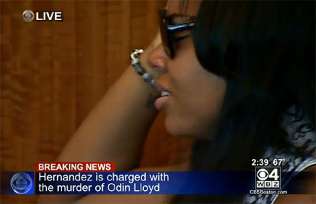Shayanna Jenkins Crying in Court After Hernandez Denied Bail