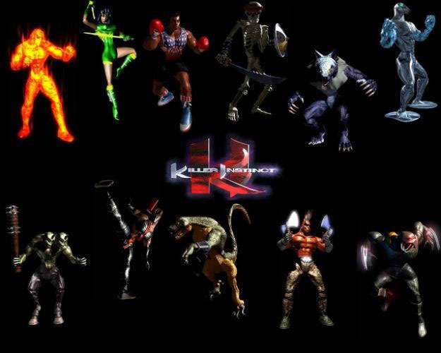 Killer Instinct 3 Characters