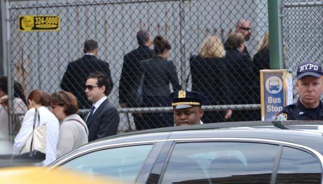 Sopranos, James Gandolfini, Funeral, Memorial Service, Remember, R.I.P., Michael Gandolfini, Marcy Wudarski, ex wife