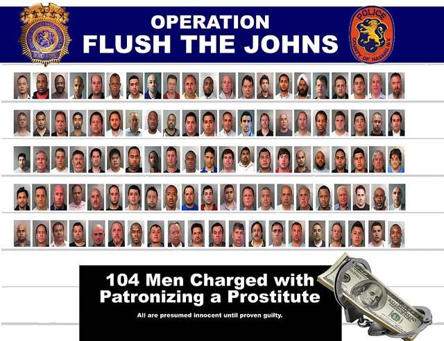 Long Island Prostitutes, Long island men arrested