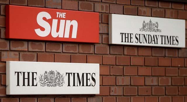 News Corp, The Sun, The Sunday Times, The Times, Rupert Murdoch Divorce