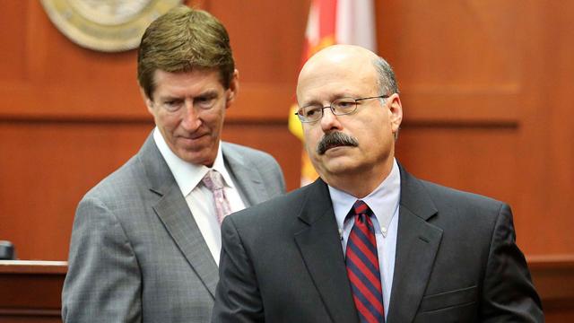 Defense and state attorney O'Mara and De La Rionda
