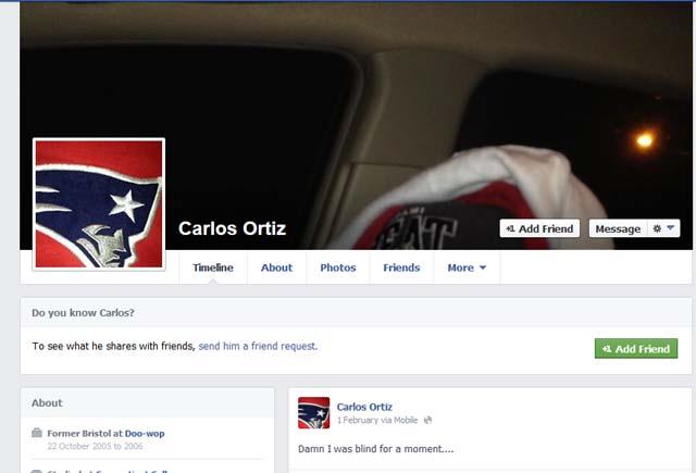 Aaron Hernandez Carlos Ortiz Facebook Odin Lloyd Murder