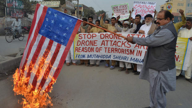 Drone protests in Pakistan