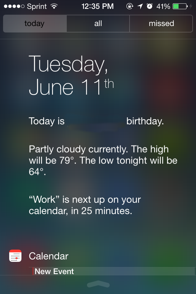 ios 7 features, ios 7 screenshots, ios 7 control center