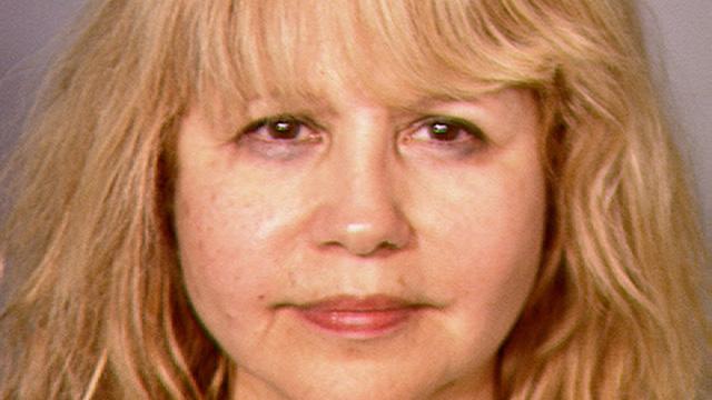 Pia Zadora Mugshot