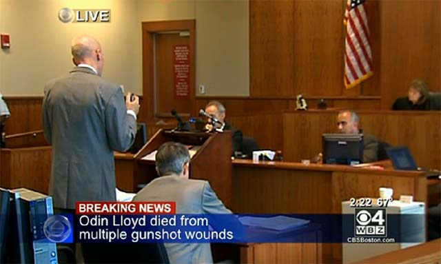 Aaron Hernandez bail hearing Odin Lloyd murder