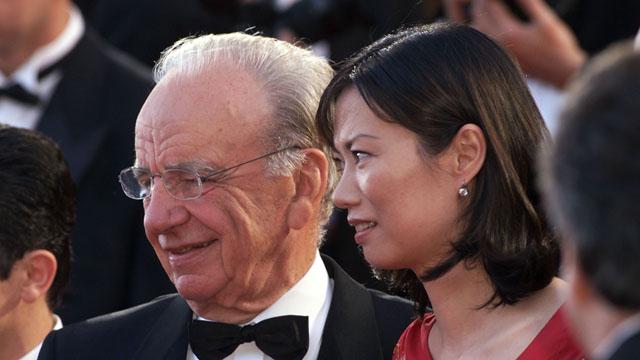 Rupert Murdoch's Divorce, Wendi Deng,
