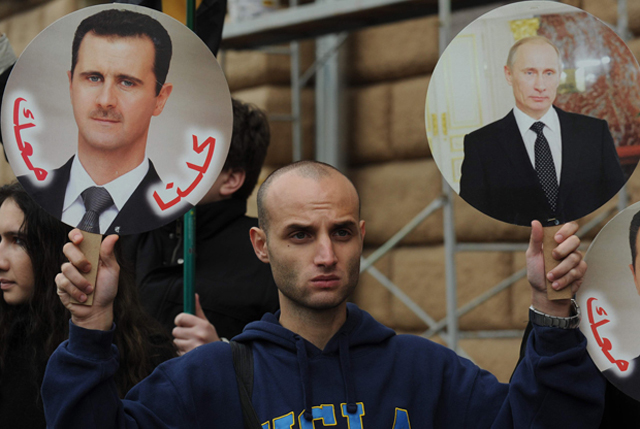 russia syria weapons