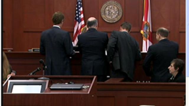 Side Bar George Zimmerman Trial