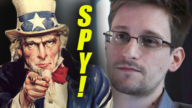 snowden charged with espionage