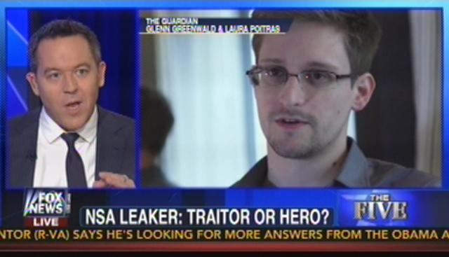Edward Snowden hero traitor
