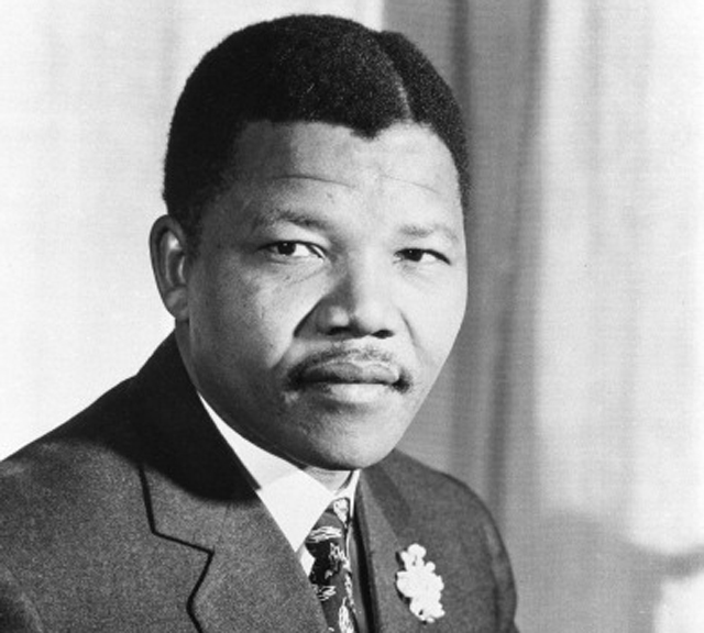 Young Mandela when he became president of the ANC youth league (Getty Images)