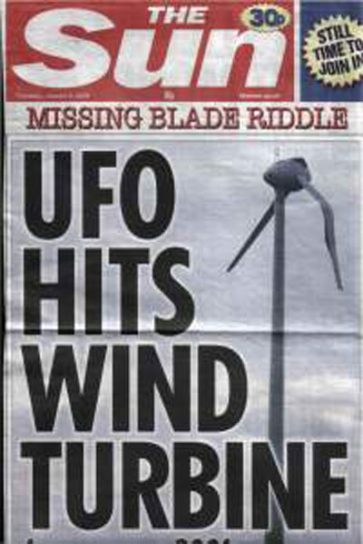 The Sun UFO sightings