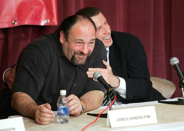 John Travolta, James Gandolfini