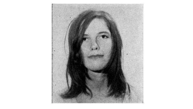 Van Houten's mugshot from 1970 (via California Deportment of Corrections)