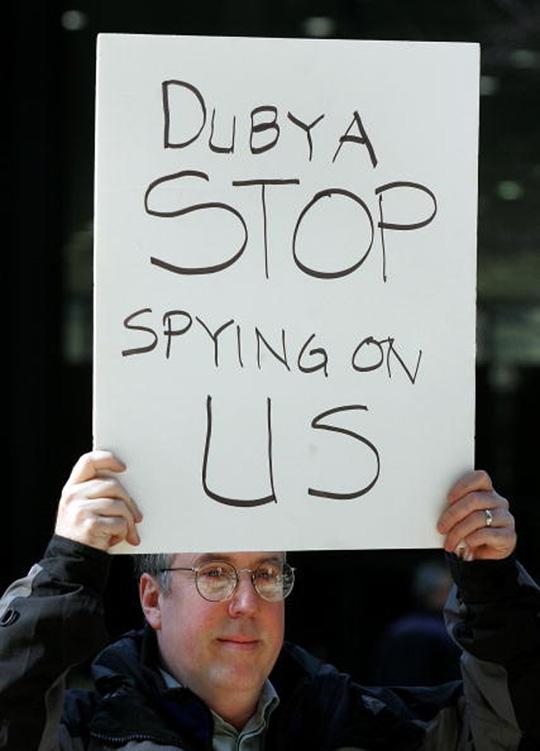 Bush Verizon NSA Phones