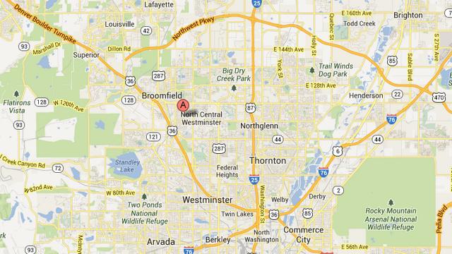 Westminster Colorado, Colorado, Westminster Explosion